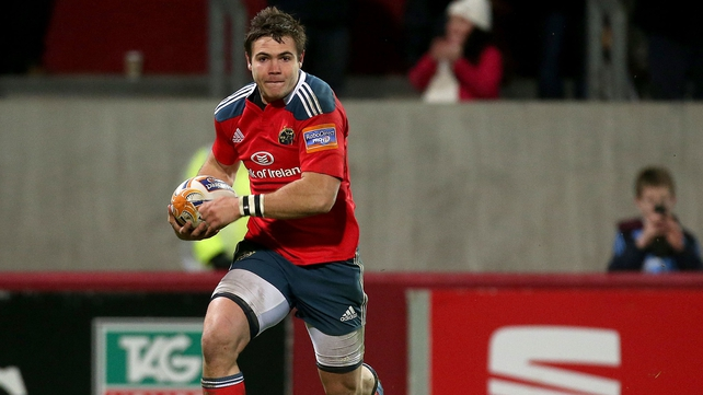 Gerhard van den Heever has impressed since his move to Munster from Western Province