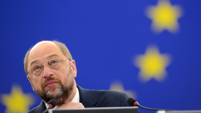 Martin Schulz said EU leaders did feel the weight of history on them
