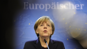 Angela Merkel said the EU was ready to support Ukraine's new government financially