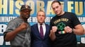 Chisora laughs off Fury's antics