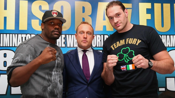Dereck Chisora insists he will send Tyson Fury to 'the naughty corner'