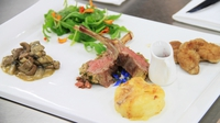 Trio of Irish Lamb  - Stephanie Manahan's signature dish from Heat 4 of MasterChef 2014