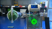 Engineers at Trinity College unveil Robbie the Robot