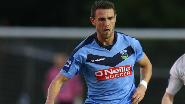 Robbie Creevy scored the opener for UCD