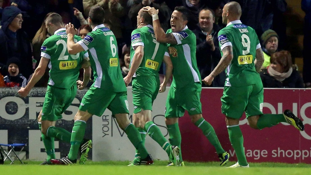 Cork City got their title charge back on track with victory over Drogheda United