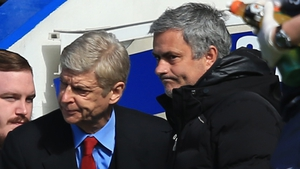 Arsene Wenger (L) and Jose Mourinho have clashed several times over the years