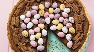 Easter Egg Chocolate Tart