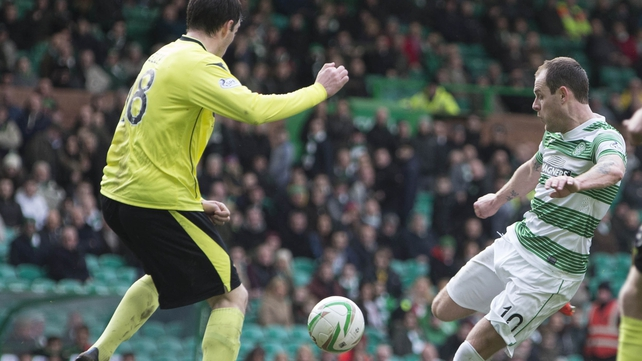 Anthony Stokes was on the mark for Celtic