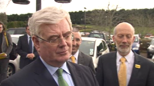 Eamon Gilmore was in Belfast attending the annual conference of the Alliance Party