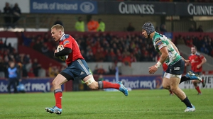 Keith Earls will be out for three to four months