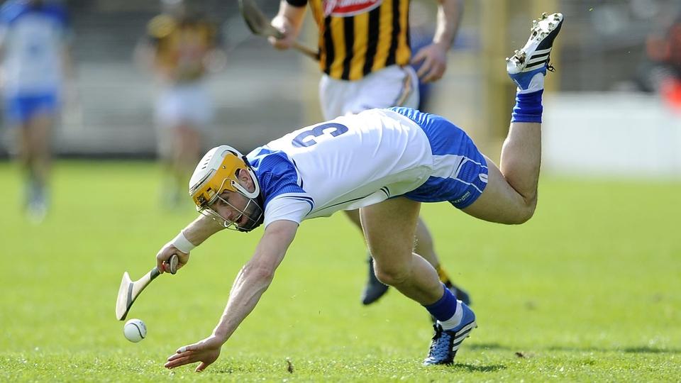 Waterford's Shane Fives takes a tumble