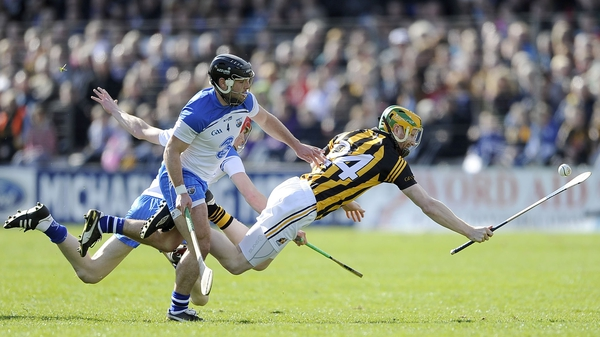 Richie Power and Noel Connors in action last year