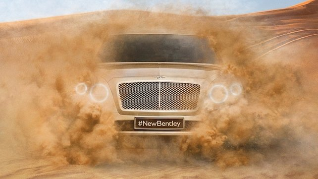 Bentley Off-Roader!