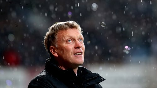 David Moyes lost his job at Old Trafford after just eight months