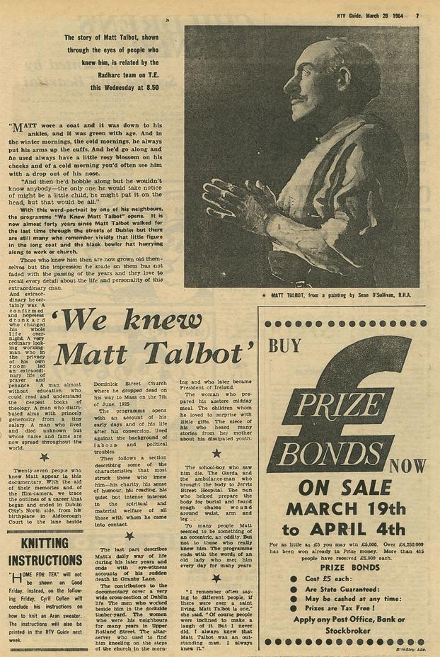 RTV Guide 25 March, 1964 p.7