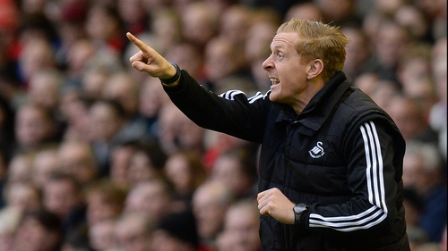 Swansea manager Garry Monk