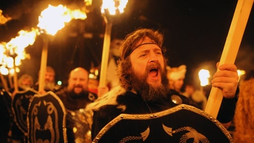 Shetland Islanders celebrate 'Up Helly Aa' in the town of Lerwick in January
