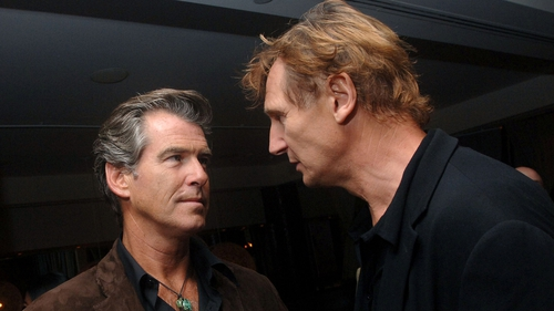Brosnan and Neeson are both patrons of Cinemagic