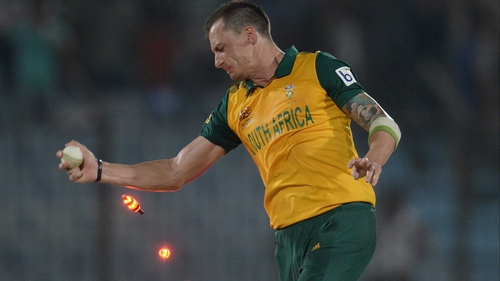 Dale Steyn turned the lights on New Zealand with a sparkling performance