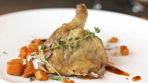 Neven Maguire's Duck Confit with Savoy Cabbage
