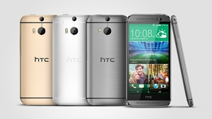 The HTC One (M8) comds in Gunmetal Grey, Glacial Silver and Amber Gold
