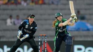 Melissa Scott Hayward batting for Ireland, via Getty Images