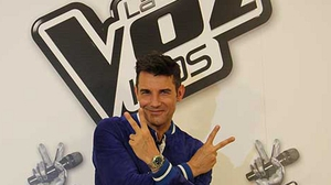 Jesus Vazquez who presents La Voz Kids, the children's version of the Spanish spin-off of The Voice.