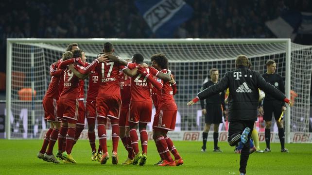 Bayern Munich celebrate another German title