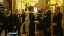 Queen Elizabeth hosts reception at Buckingham Palace