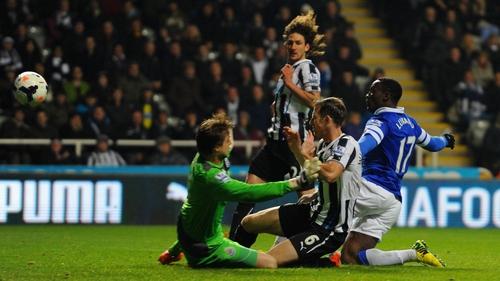 Romelu Lukaku scored 16 goals for Everton last season