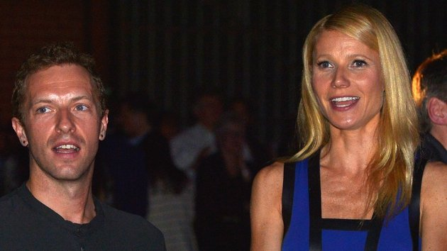 Chris Martin and Gwyneth Paltrow, pictured together in January 2014