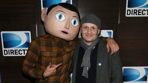 Abrahamson (right) with Frank from his new movie