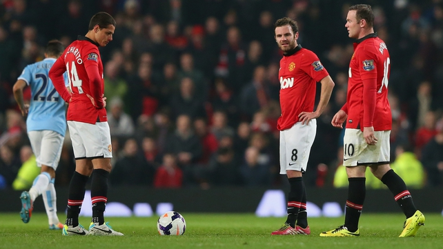Wayne Rooney's Manchester United suffered their sixth home defeat of the season