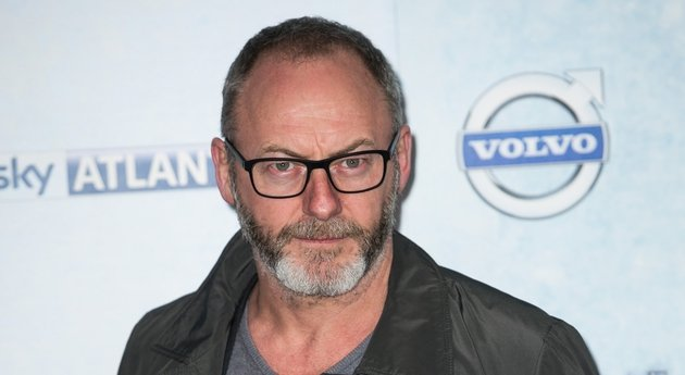 Liam Cunningham - at yesterday's Sky Atlantic launch