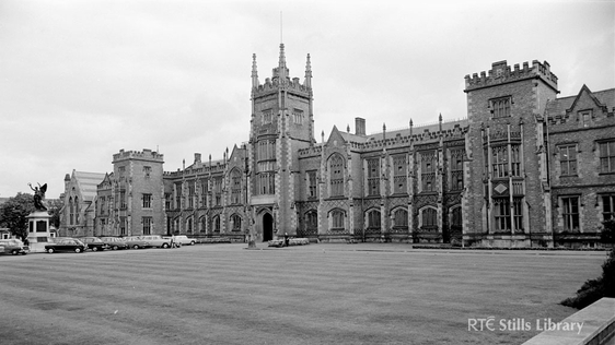 Queen's University Belfast, 1969 © RTÉ Archives 2141/064