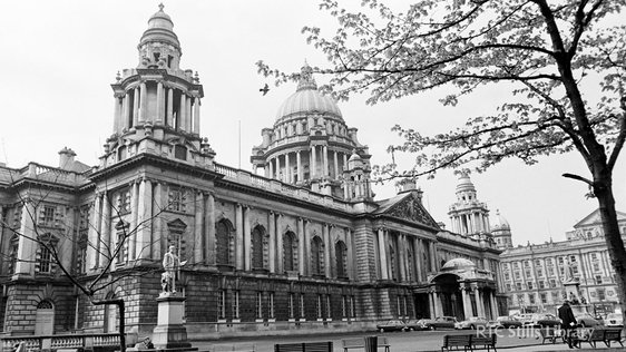Belfast City Hall © RTÉ Archives 2142/012