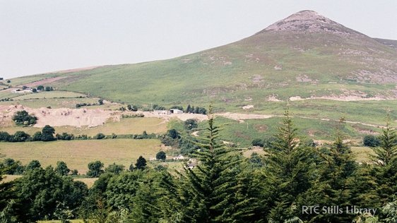 Sugar Loaf Mountain, Wicklow © RTÉ Archives 2309/015