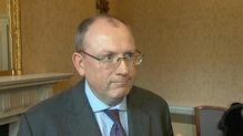 Permanent TSB CEO Jeremy Masding speaks to RTÉ's Economics Correspondent Sean Whelan