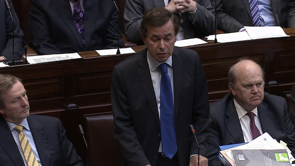 Alan Shatter said it was never his intention to cause any upset
