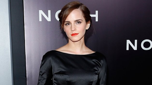 Emma Watson at Noah's New York Premiere on March 26, 2014