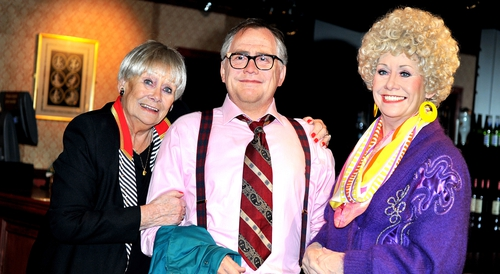 Liz Dawn at Madame Tussauds