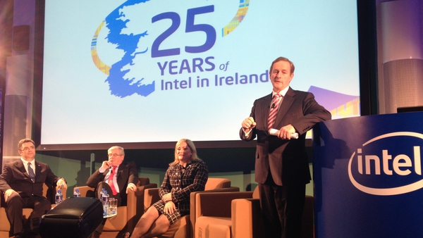 Intel's Leixlip plant in Co Kildare is now by far its largest in Europe