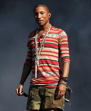 Pharrell Williams creating clothing line for Adidas