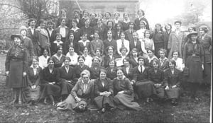 Women of 1916 from Ely O'Connor's house, July 1917, at a fundraiser for the 1916 families holiday fund (Pic: Sighle Humphreys Archive)