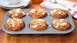 Apricot Jam Breakfast Muffins