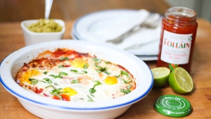 Mexican Eggs with Tomato Relish