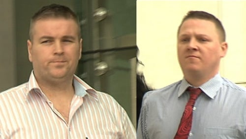 Court has ruled the trial of Noel Noonan (L) and Thomas McMahon should proceed