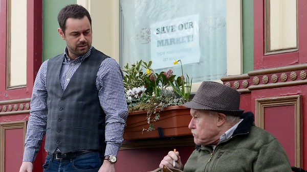 West (with on-screen son Danny Dyer) - Says his character Stan