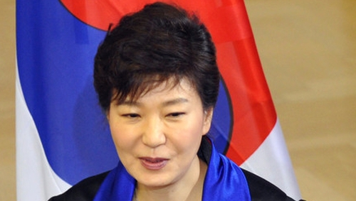 South Korean President Park Geun-hye said the two Koreas must put confrontation behind them