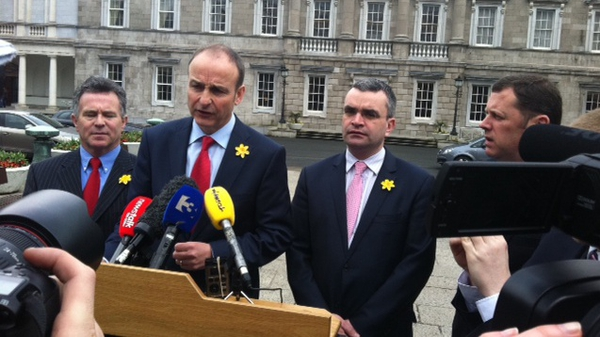 Micheál Martin said the public has lost confidence in Alan Shatter's capacity to run his department